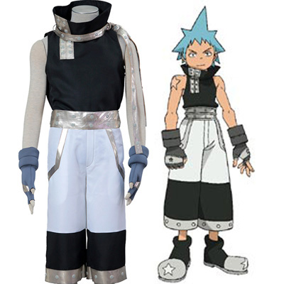 Soul Eater Black Star Cosplay Halloween Costume