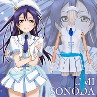 Anime Love Live! Sonoda Umi Cosplay Halloween Puvut Suomi