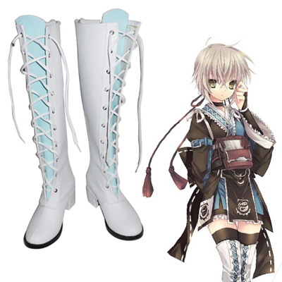 Touhou Project Morichika Rinnosuke Cosplay Shoes