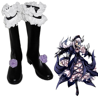 Rozen Maiden Suigintou Cosplay Shoes