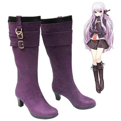 Danganronpa: Trigger Happy Havoc Kirigiri Kyouko Cosplay Shoes