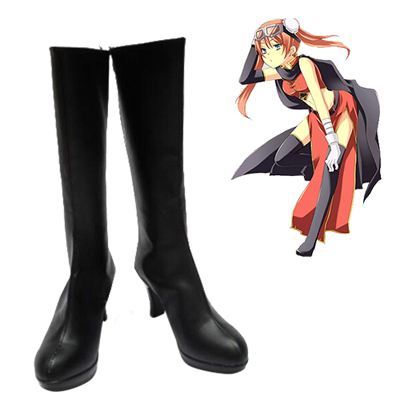 Gin Tama Kagura Cosplay Shoes
