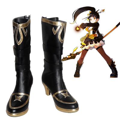 Elsword Ara Cosplay Shoes