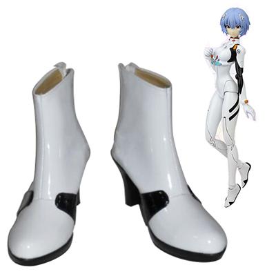 Neon Genesis Evangelion EVA Ayanami Rei Cosplay Shoes