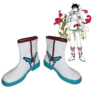 Hozuki's Coolheadedness Hakutaku Cosplay Boots