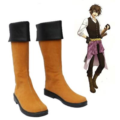 Hakuouki Heisuke Todo Cosplay Shoes