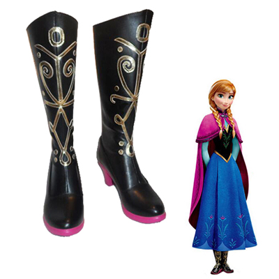 Frozen Anna Cosplay Shoes