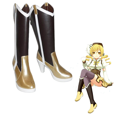 Puella Magi Madoka Magica Tomoe Mami Cosplay Boots