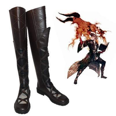 Final Fantasy XIV Summoner Cosplay Shoes