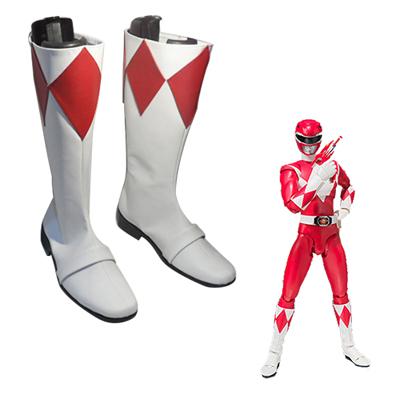 Kyōryū Sentai Zyuranger Tyranno Ranger Cosplay Shoes