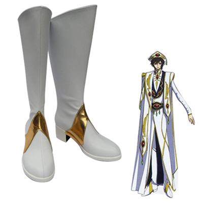 Code Geass Lelouch vi Britannia ZERO Cosplay Shoes