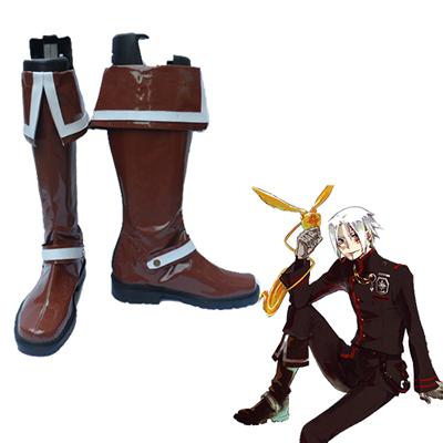 D.Gray-man Allen Walker 3RD Cosplay Shoes
