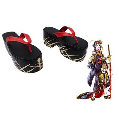 Touken Ranbu Online Jiroutachi Cosplay Shoes