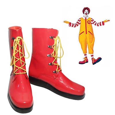 McDonald's Ronald McDonald Cosplay Shoes