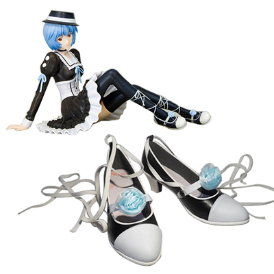 Neon Genesis Evangelion Ayanami Rei Cosplay Shoes