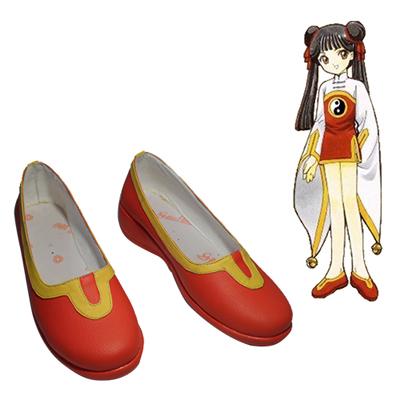 Cardcaptor Sakura RI MEIRIN Cosplay Shoes