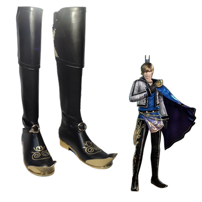 Dynasty Warriors 8 Guo Jia Cosplay Shoes