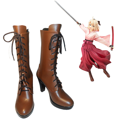Fate/Grand Order Saber Okita Souji Cosplay Shoes