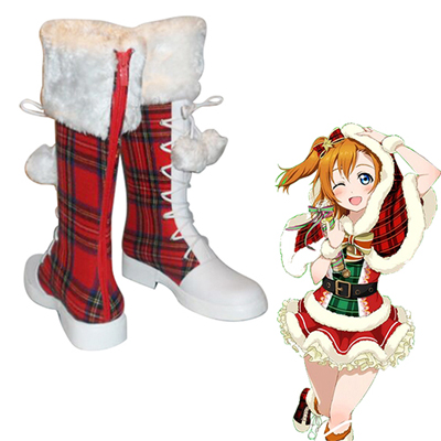 Love Live! School Idol Project Honoka Kousaka Christmas Boots