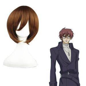 07-Ghost Kasutoru Brown 32cm Cosplay Wigs