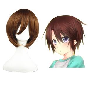Sekai-ichi Hatsukoi Yoshino Chiaki Brown 32cm Cosplay Wigs
