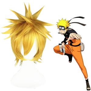 Naruto Uzumaki Naruto Light Blonde 35cm Cosplay Wigs