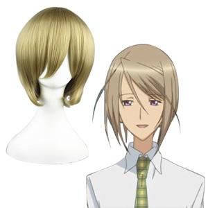 Shugo Chara! Amakawa Tsukasa Flaxen 32cm Cosplay Wig
