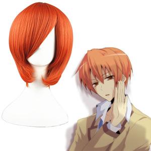 Angel Beats! Otonashi Yuzuru orange 35cm Cosplay Wig
