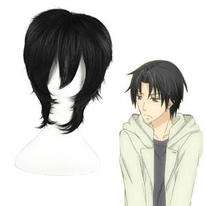 Sekai-ichi Hatsukoi Kisa Shyouta Black Cosplay Wig