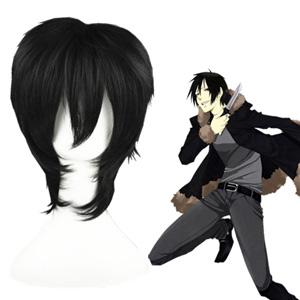 Durarara Orihara Izaya Black Cosplay Wig