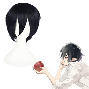 Ao no Exorcist okumura rin Navy 35cm Cosplay Wig