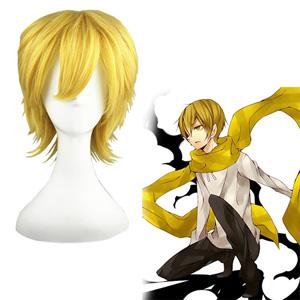 DRRR Kida Masaomi Golden 32cm Cosplay Wig