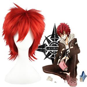 Hitman Reborn Kozato Enma Black Cosplay Wig
