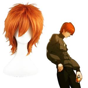 Togainu no Chi Yukihito Orange Cosplay Wig