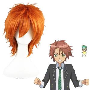 Shugo Chara Souma Kuukai Orange Cosplay Wig