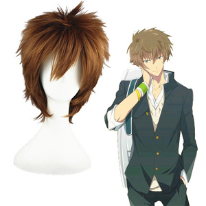 The Prince of Tennis shitenhouji Oshitari Kenya Brown Wigs
