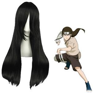 Naruto Hyūga Neji Black Cosplay Wig