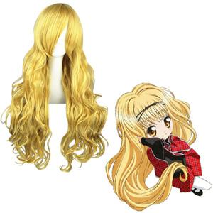 Shugo Chara MashiroRima Golden Cosplay Wig