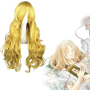 Natsume Yuujinchou Hotaru Golden 80cm Cosplay Wig