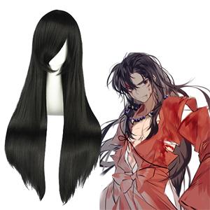Inuyasha Inuyasha Black 80cm Cosplay Wig