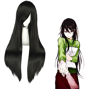 Durarara Yagiri Namie Black Cosplay Wig