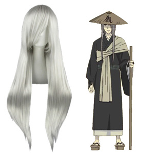 Natsume Yuujinchou Monster Silvery White 80cm Cosplay Wig