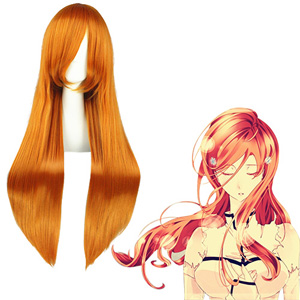Bleach Inoue Orihime Orange Cosplay Wig
