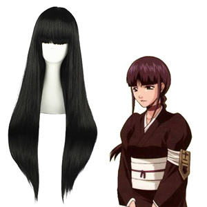 Bleach Kurotsuchi Nemu Black Cosplay Wig