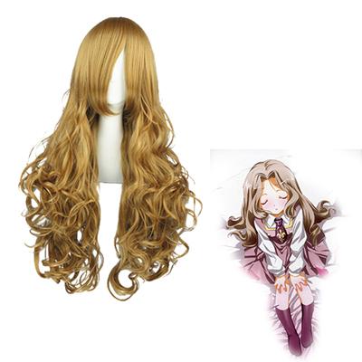 Code Geass Nunnally Vi Britannia Linen Cosplay Wig