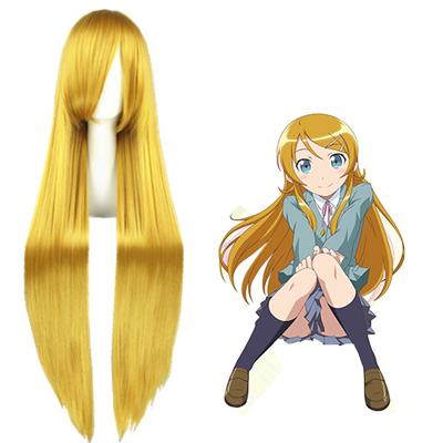 Oreimo Kousaka kirino Golden Cosplay Wig