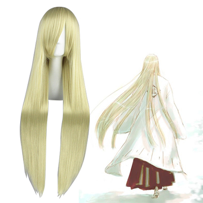 Bleach Hirako Shinji Light Blonde Cosplay Wig