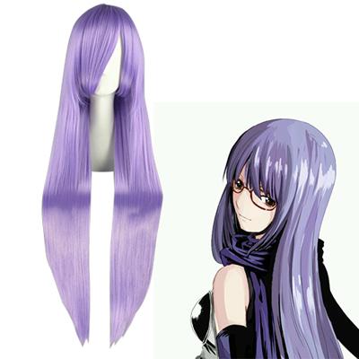 Gintama Sarutobi Ayame Lavender Cosplay Wig