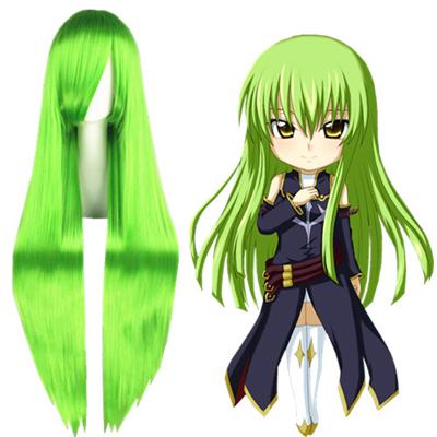 Pelucas Code Geass C.C. Verde Cosplay