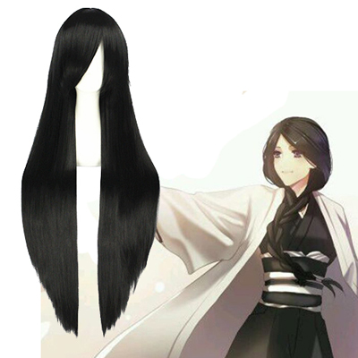 Bleach Unohana Retsu Black Cosplay Wig